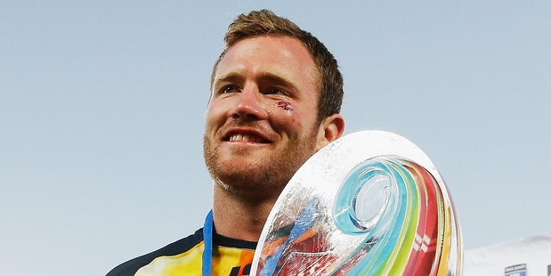 Gavin Cooper and the Cowboys won the inaugural nines. Photo / Getty Images