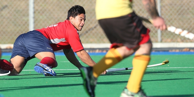 The Rotorua Aces went down 10-0 to Valley United on Saturday. Pictured is Aces player Tuterangi Raharuhi. Photo / Ben Fraser