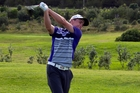Tadgh Campbell was best amateur and seventh overall in the Muriwai Open. Picture / Elizabeth Witton for NZ Golf Magazine