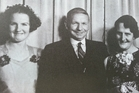 The terrible war experiences of Mark Briggs (pictured with his daughter and wife) feature in Great War Stories.