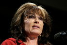 Sarah Palin, the former governor of Alaska and Republican vice-presidential candidate. Photo / AP