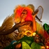 A carnival queen greets people from the top of a parade float during the 'Carnival of Flowers' celebrations in Port-au-Prince, Haiti. Photo / AP