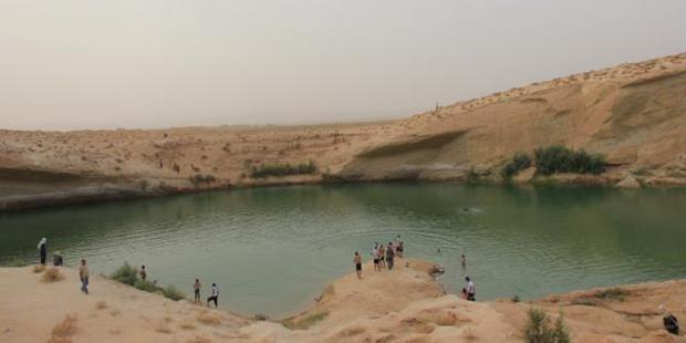 'Gafsa Beach'. Photo / Twitter / @moezrdf