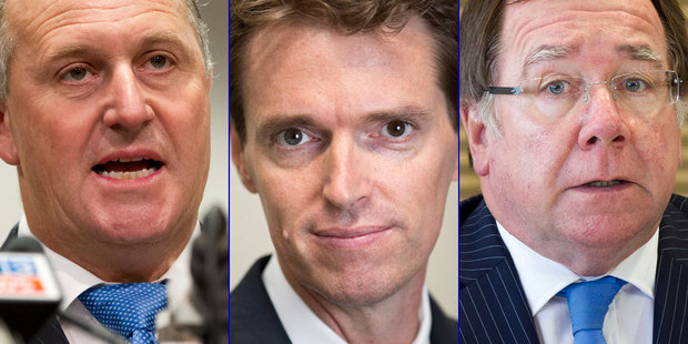 Loading John Key says Murray McCully will still contest the East Coast Bay seat - is this a death knell for Colin Craig's political aspirations? Photo / NZ Herald