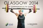 New Zealand weightlifter Tracey Lambrechs. Photo / Greg Bowker