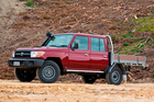 Toyota's Land Cruiser 70 can be traced back to 1984. Photo / Supplied