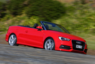 The new A3 cabriolet comes with a $69,900 price tag while the 1.8 litre turbo engine provides 132kW of power. Pictures / bwmedia