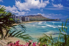 Waikiki Beach in Hawaii. Photo / Getty Images