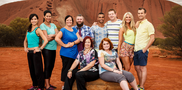 The New Zealand competitors in The Amazing Race.