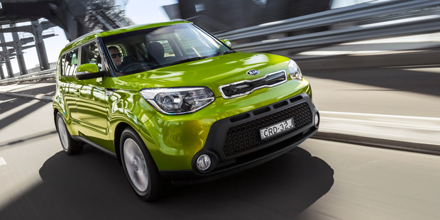 The Kia Soul has been chosen for its compact size and higher safety rating.