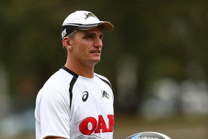 Penrith Panthers coach Ivan Cleary. Photo / Getty Images