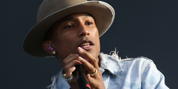 Pharrell Williams. Photo / AP
