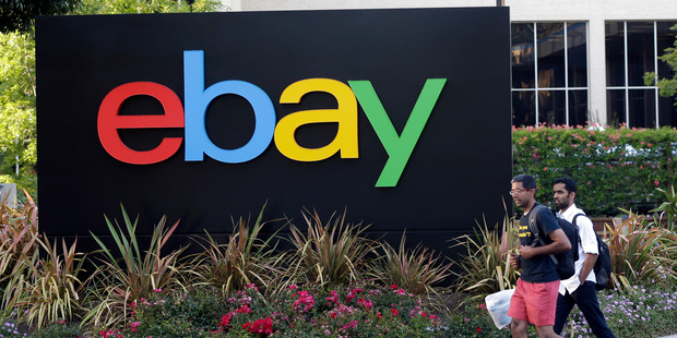 EBay is seeking to capitalise on the boom in online services and sharing applications. Photo / AP