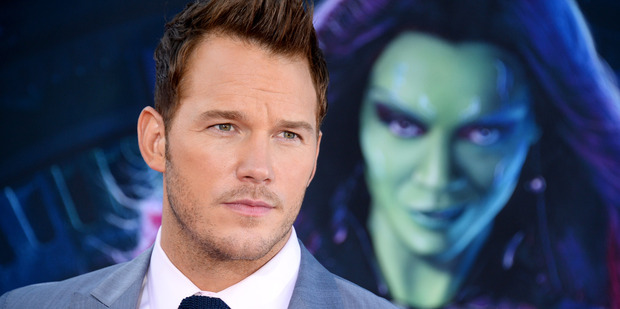 Chris Pratt of The Guardians Of The Galaxy. Photo / AP