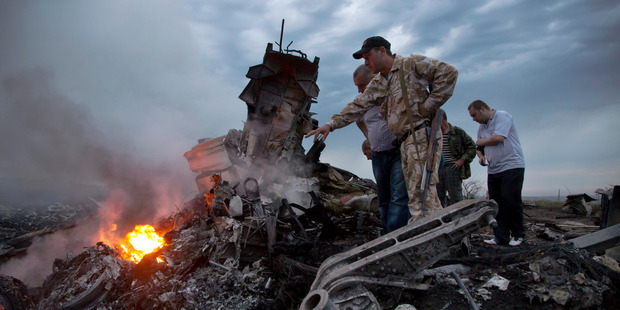 All 298 people on board died in the MH17 crash over Ukraine. Photo / AP