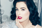 Burlesque star Dita Von Teese hopes to help new mothers feel sexy with her new lingerie line.