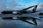 Air New Zealand's new 787-9 Dreamliner. Photo / Brett Phibbs