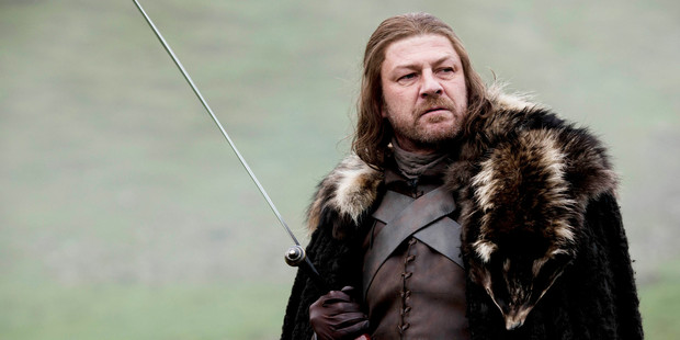 Sean Bean in the series Game of Thrones / Photo supplied by Sky TV