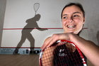 Rotorua squash player, Amanda Landers-Murphy. Photo / Ben Fraser