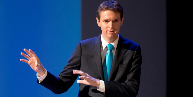 The Conservative Party leader Colin Craig. Photo / Brett Phibbs