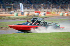 NZ Jetsprint Championships at Baypark Stadium. Driver Harry Wheelans and Navigator Jason Conroy competing in the PSP Ltd Group A. Photo/file
