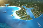 An artist's impression of the $140m Fijian project called Vunabaka.