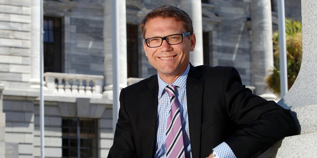 Epsom candidate Paul Goldsmith is ranked at 30 - nine slots above his 2011 ranking. Photo / New Zealand Herald / Mark Mitchell