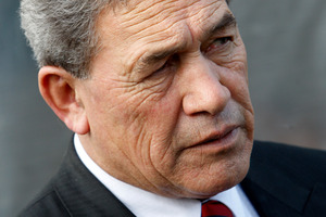 NZ First leader Winston Peters. File photo / Michael Cunningham