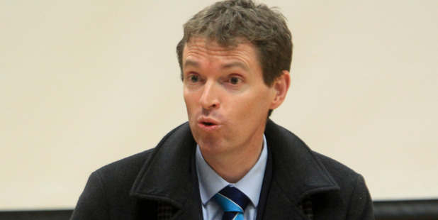 HOPEFUL: Conservative Party leader Colin Craig. PHOTO/PAUL TAYLOR