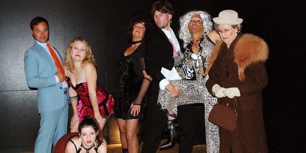 The cast of Stiff, which starts tonight at Kerikeri's Turner Centre. PHOTO / KERIKERI THEATRE COMPANY