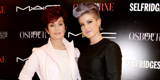 Kelly Osbourne (right) has always loved colour, especially lavender: Mum Sharon was looking for something warm, but not too bright. Photo / Supplied.
