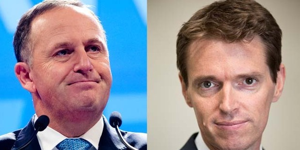Prime Minister John Key and Conservative Party leader Colin Craig. Photo / Mark Mitchell, Greg Bowker