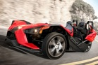The Polaris Slingshot is a unique three-wheeler with the performance to keep the track day warrior happy.