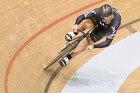 New Zealand track cyclist Simon van Velthooven won silver in the 1000m time trial. Photo / Greg Bowker