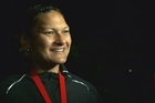 Valerie Adams won gold in the women's shot put this morning in Glasgow - and it's NZ's 600th Commonwealth Games medal.