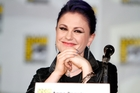 Anna Paquin on stage at the Comic-Con International convention in San Diego. Photo / Getty Images