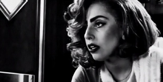 Lady Gaga as she appears in the trailer for Sin City 2. Photo/Instagram