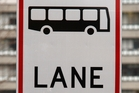 A bus lane with no hours marked is always a bus lane, but others are free to use outside the times indicated on the sign. Photo / Brett Phibbs