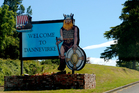 The Viking is Dannevirke's mascot. Photo / Creative Commons image by Flickr user ohsarahrose