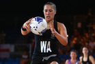 Liana Leota of the Silver Ferns. Photo / Getty Images