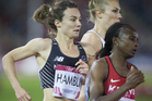 Nikki Hamblin and Angie Smit will both race in the 800m final. Photo / Greg Bowker