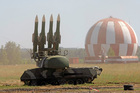MH17 was probably brought down by a Russian-made SA-11 missile. Photo / AP