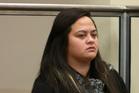 Murder accused Shaylene Wharerau in the High Court at Whangarei. Photo / APN