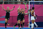 The Black Sticks face England in the semifinals after topping their group. Photo / Brett Phibbs