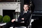 Interior designer Ben Lewis from Trenzseater in the Parnell showroom. Picture / Babiche Martens