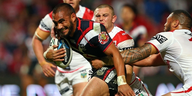 Thomas Leuluai is a vital player for the Warriors. Photo / Getty Images