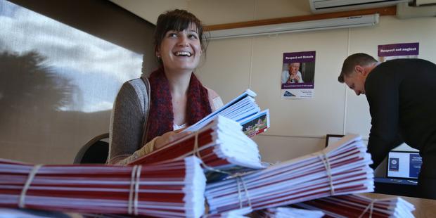 Gives Back -Ruth Keber at Age Concern