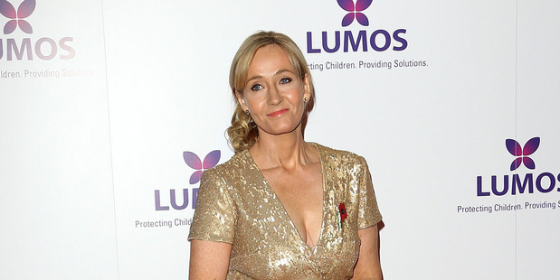 JK Rowling. Photo / Getty Images