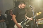 Shihad perform for the Barkers Sundae Sessions. Photo / Stephen Tilley