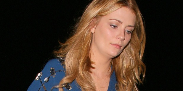 Mischa Barton could lose her Beverly Hills mansion. Photo/Getty